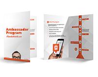 bodofood.com | Ambassador Program Bi Fold Brochure