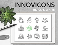 Black and White Innovicons