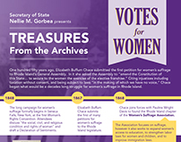 Treasures from the Archives : Votes for Women