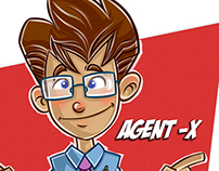 Agent-X Character Design