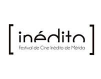 Identidad Festival de Cine Inédito de Mérida