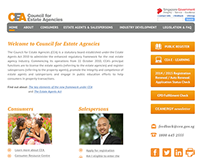 Website revamp for CEA Singapore