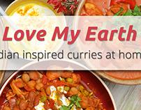 Love My Earth Web Banners