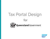 Office of state revenue: Portal design for citizens