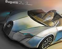 Bugatti Das France Hybrid Concept