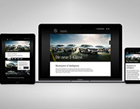 Mercedes-Benz E-Class Family Website