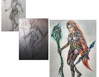 Lady Concept Art