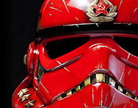 Unique stormtrooper StarWars helmet!