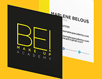 Be Make Up Business Card