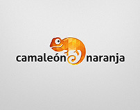 Camaleón Naranja logo