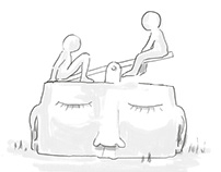 Terapung Float Club Concept Illustrations