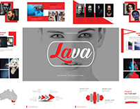 Lava Presentation Template