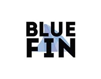 Blue Fin Distribution Logo mock ups