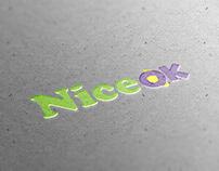 NiceOk logotype design