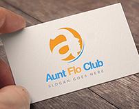 Aunt Flow Club Logo