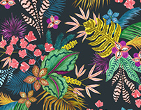 Arty Tropic Pattern