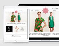 Fashion Ecommerce Site Design