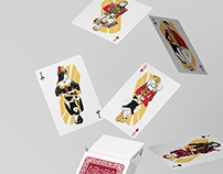 Playing cards illustrations