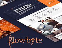 Landing page GlowByte Consulting - Marketing