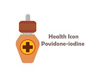 bix box studio - Povidone-iodine Health Icon