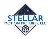 STELLAR MOTION PICTURES logo design