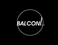 Balconi Logo design