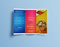 Restuarant Trifold Brochure Design