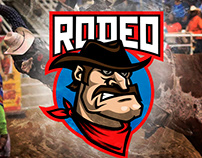 Cowboy mascot design for stock
