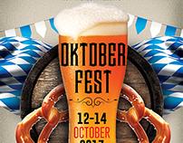 Oktoberfest Poster-Flyer Template