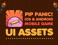 Pip Panic! Mobile Game UI