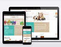 TIERWOHLTÄTER // Naming // Corporate Design // Website
