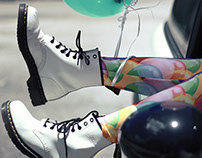 Balloons and Dr. Martens