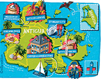 Map Illustrations for National Geographic Traveller