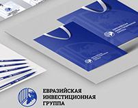 Brandbook Euras Investment Group /logo design /branding
