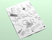 Design Disruptors Poster