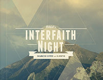 Interfaith Night Poster