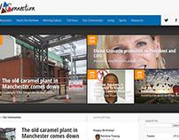 Corporate Intranet (Wordpress)