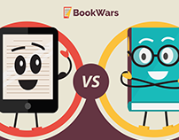 BookWars: E-Books versus Printed Books