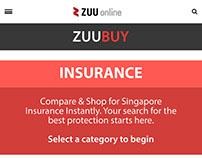 ZUUBUY - Zuu Online portal (Mobile View)