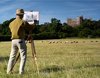 Belvoir Castle through an artist's eyes