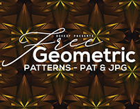 12 Free Modern Geometric Patterns 2