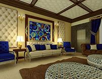 Luxury Living Room - Islamabad - Interior Design