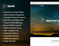 Spark - Creative WordPress Theme