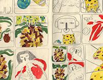 Myths & Legends sketchbook