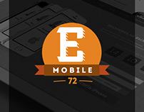 Landing page for eMobile72.ru '14