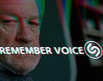Shazam- Remember Voices