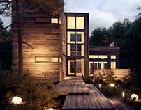 CGI inspired by House on Fire Island | 3D art