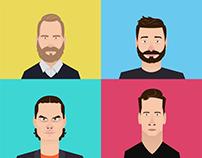 Agency portraits - PiJa