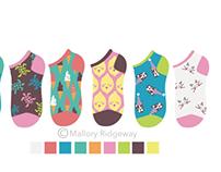 Girls sock designs