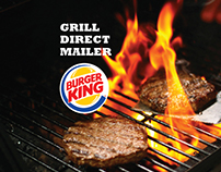 BK's GRILL DIRECT MAILER